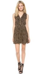Diane von Furstenberg Zaeta Printed Sleeveless Dress at Shopbop