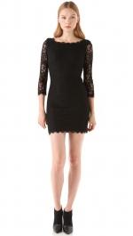 Diane von Furstenberg Zarita dress in black at Shopbop