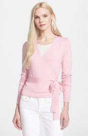 Diane von Furstenberg and39Ballerinaand39 Wrap Sweater at Nordstrom