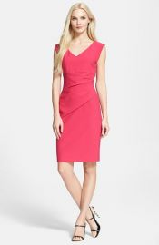Diane von Furstenberg and39Bevinand39 Ruched Sheath Dress at Nordstrom
