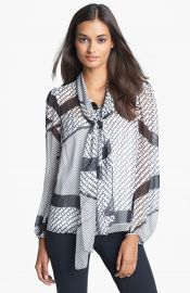 Diane von Furstenberg and39Jezebeland39 Silk Blouse at Nordstrom