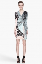 Diane von Furstenberg dress on HIMYM at Ssense