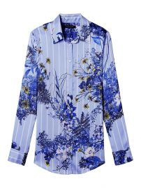 Dillon-Fit Floral Stripe Shirt at Banana Republic