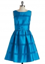 Dinner Party Darling Dress in Azure at ModCloth at Modcloth
