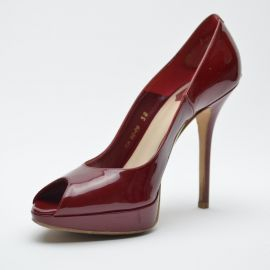 Dior Miss Dior Peep Toe Pumps at The Luxury Closet