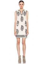 Dita Embroidered Noil Silk Dress by Isabel Marant etoile at Forward