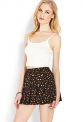 Ditsy Floral Ruffle Skirt at Forever 21