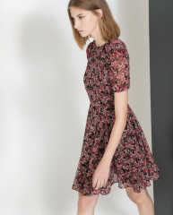 Ditsy print dress at Zara