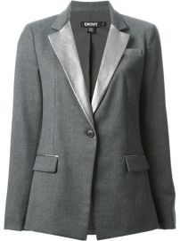 Dkny Metallic Lapel Blazer - Fashion Clinic at Farfetch