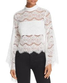 Do and Be Bell Sleeve Lace Top at Bloomingdales