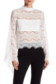 Do and Be Long Sleeve Lace Blouse at Nordstrom Rack