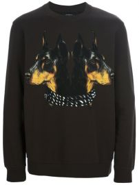 Doberman Print Sweater by Givenchy at Farfetch