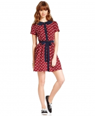 Dog print dress by Keds at Macys