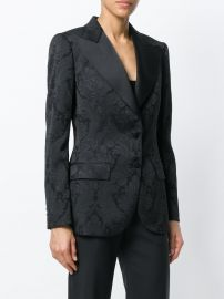 Dolce  amp  Gabbana Carretto Siciliano Print Jacket   at Farfetch