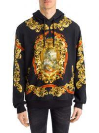 Dolce   Gabbana - Heraldic Print Hoodie at Saks Fifth Avenue