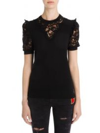 Dolce   Gabbana - Lace Accent Knit at Saks Fifth Avenue