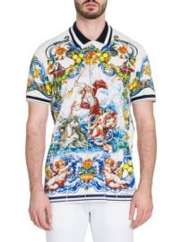 Dolce & Gabbana Majolica Polo at Saks Fifth Avenue