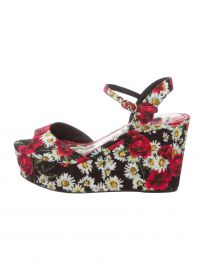 Dolce & Gabbana Poppy Platform Sandals at The Real Real