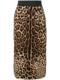 Dolce  amp  Gabbana Leopard Print Pencil Skirt  925 - Buy Online SS18 - Quick Shipping  Price at Farfetch