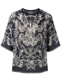 Dolce  amp  Gabbana Virgin Mary Print T-shirt at Farfetch