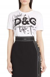 Dolce amp Gabbana Beautiful Life Graphic Tee at Nordstrom