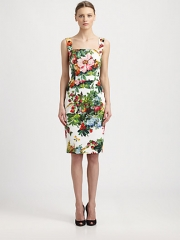 Dolce and Gabbana - Strawberry Print Dress at Saks Fifth Avenue