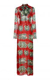 Dolce and Gabbana Cabbage Print Dress at Moda Operandi