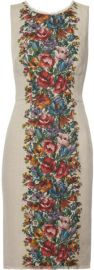 Dolce and Gabbana Floral Dress at Net A Porter
