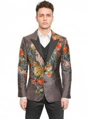 Dolce and Gabbana Floral Jacket at Luisaviaroma