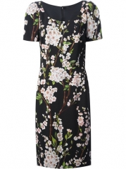 Dolce and Gabbana Floral Print Dress - Divo at Farfetch