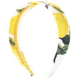 Dolce and Gabbana Lemon Print Headband at Alex and Alexa