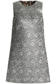 Dolce and Gabbana Silver Dress at The Outnet