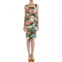 Dolce andamp Gabbana Floral Day Dress at Barneys