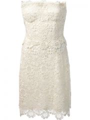 Dolce andamp Gabbana Lace Dress - Eraldo at Farfetch