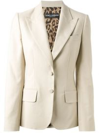 Dolce andamp Gabbana Peaked Lapel Blazer - Boutique Antonia at Farfetch