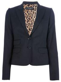 Dolce andamp Gabbana Pinstriped Trouser Suit - Tessabit at Farfetch