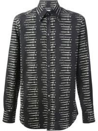 Dolce andamp Gabbana Swords Printed Shirt - Boutique Mantovani at Farfetch