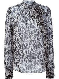 Dolce andamp Gabbana Wisteria Print Blouse  - Leam at Farfetch