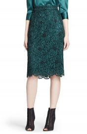 DolceandGabbana Lace Pencil Skirt at Nordstrom