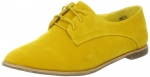 Dollhouse Womens Finest Flat in yellow at Amazon