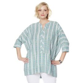 Dolman pullover blouse at HSN