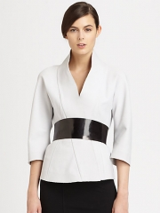 Donna Karan Belted Kimono Jacket at Saks Fifth Avenue