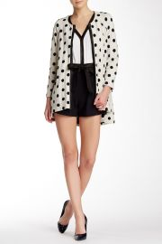 Dot Hi-Lo Coat at Nordstrom Rack