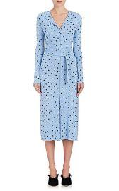 Dot-Print Stretch-Crepe Dress by Nina Ricci at Barneys