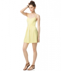 Dot Skater Dress at Aeropostale