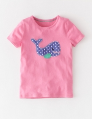 Dotty Applique Tshirt at Boden