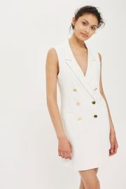 Double Breasted Blazer Dress by Topshop at Topshop