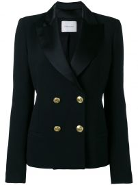 Double Breasted Blazer by Pierre Balmain at Farfetch