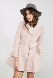 Double Breasted Princess Coat at Forever 21