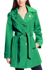 Double Collar Trench Coat at Amazon